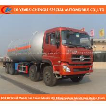 8X4 10 Wheel Mobile Gas Tanks, Mobile LPG Filling Station, Mobile Gas Station Truck