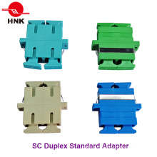 Sc Duplex Singlemode, multimode, Om3 et APC Fiber Optic Adapter