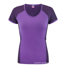 Großhandelsart und weisefrauen kundenspezifisches Baumwollt-shirt