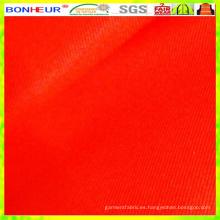 Alta visibilidad 85% poliéster 15% algodón 4/1 tejido satinado