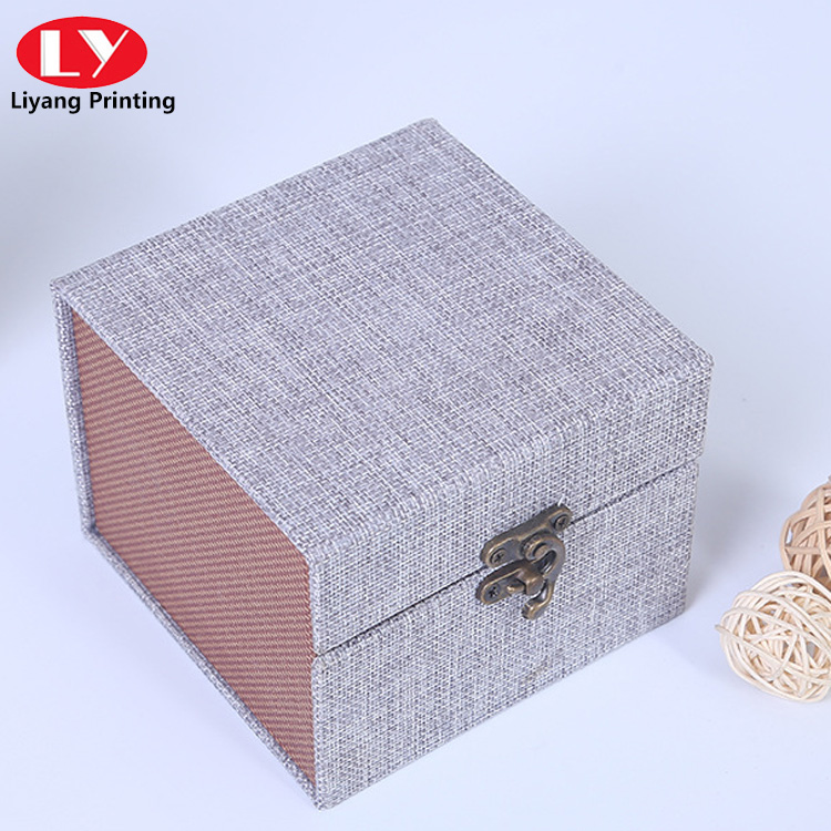 Candle Packaging Boxes with Lock