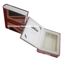Embalagem de vinho de luxo Caixa de papel Caixa de bebida personalizada