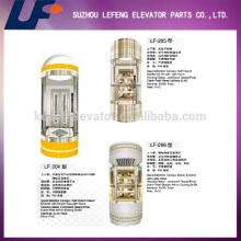 Открытый стеклянный лифт / осмотр достопримечательностей Лифт на продажу