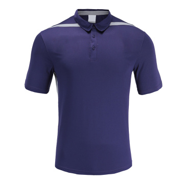 Polo Homme Dry Fit Soccer Wear Violet