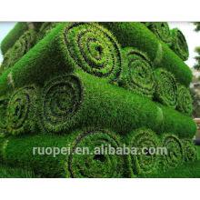 Chine fournisseur gazon artificiel ignifuge et UV tapis de résistance herbe