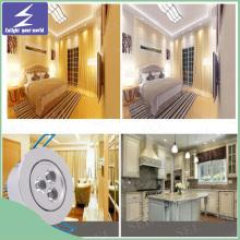 LED de alta calidad empotrado techo Downlight para el hogar