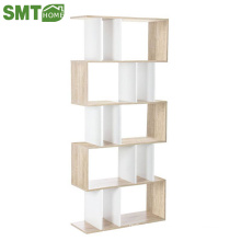 Modern cheap simple wooden bookcase