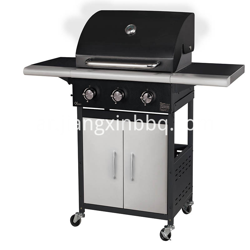 3 Burners Gas Bbq For Grill