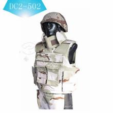 NIJ II o NIJ IIIA chaleco balístico chaleco antibalas armadura DC2-5