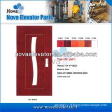 Porta do elevador, Elevador Porta manual, Elevador Porta do balanço