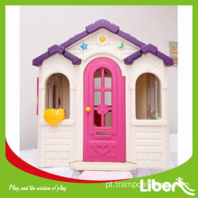 Kids playhouse de plástico para interior