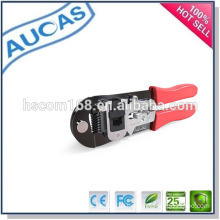 rj45 network cable crimp tool /Network Cable Plier/modular connector plug hand tool /ethernet cable cutting stripping tool