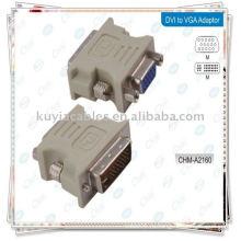 Переходник DVI с вилкой на VGA