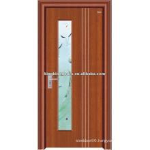Best simple design steel wood door JKD-2003(Z) made in China
