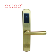 Door lock smart hotel door handle