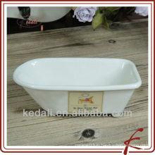 Фабрика оптовой продажи фарфора фарфора керамического мыла мыла держателя мыла