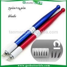 Kit e caneta de bordado 3D sobrancelha