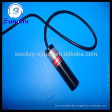 Module laser Croix Bleue 450nm 1mw 5mw 10mw 22mmx110mm