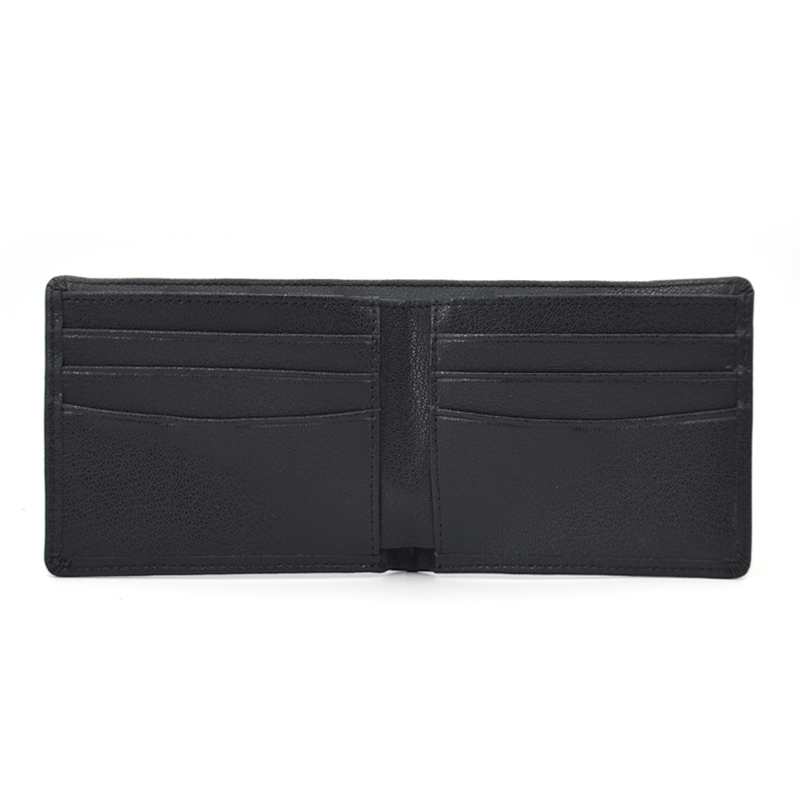 Custom Logo Personalised Leather Men Wallet for Gift