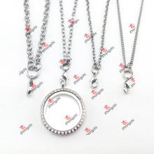 Presentes de Natal personalizado aço inoxidável cadeia camisola colar (CSN60104)