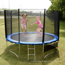 14FT Trampoline Tent with Safety Net