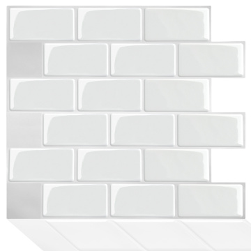Decor Wall Sticker 3D Peel and Stick Tile