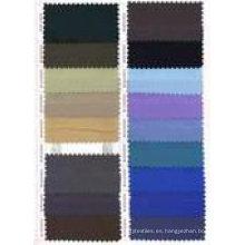 Tela 100% algodón / sarga / tela plana precio barato / tela wearkwear