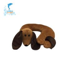 travesseiro em forma de u animal do pescoço do viagem