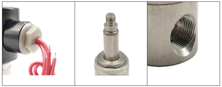 2/2 Way Plunger Direct Operating Corrosion-resistant Solenoid Valve