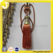 acrylic beads rhinestone curtain tieback tassel stock