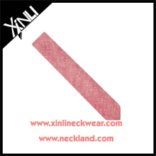 Dry-clean Only Custom Made Business Gift Men Cotton Solid Tie