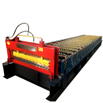 Roof Tile Corrugated Sheet Panel Forming Machine