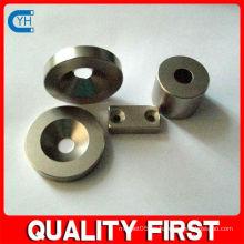 Fabricado en China Fabricante y fábrica $ Proveedor Imán de bloque de alta calidad con avellanado