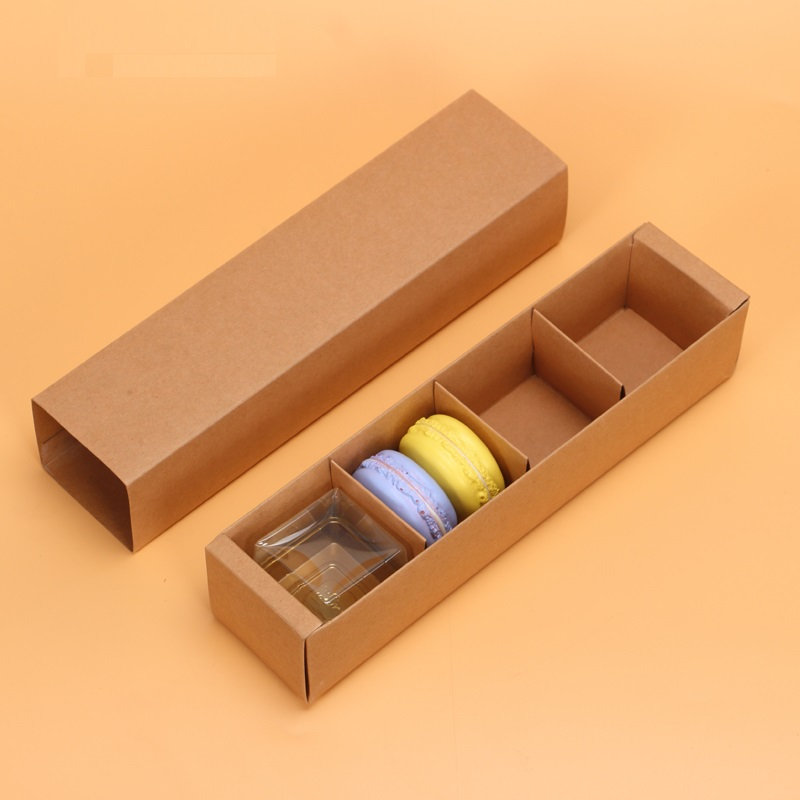 Kraft Brown Macaron Box Dividers