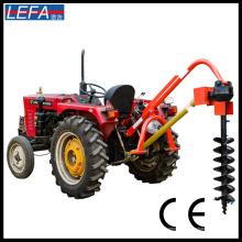 Máquina perforadora de tierra excavadora de agujeros de granja portátil de tractor