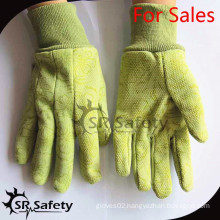 SRSAFETY best price gloves best gardening gloves in china,green working gloves outdoor working gloves