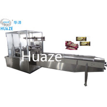 Plastic Packaging Material Biscuits And Cookies Horizontal Pillow Packing Machine