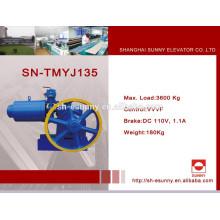 Haut-efficace machine de traction contrôle orienté de VVVF sans semelle éconergétiques avec tarification concurrentielle de SN-TMYJ135