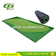 2016 new golf products Artificial Grass Indoor Golf Mat simulator Price