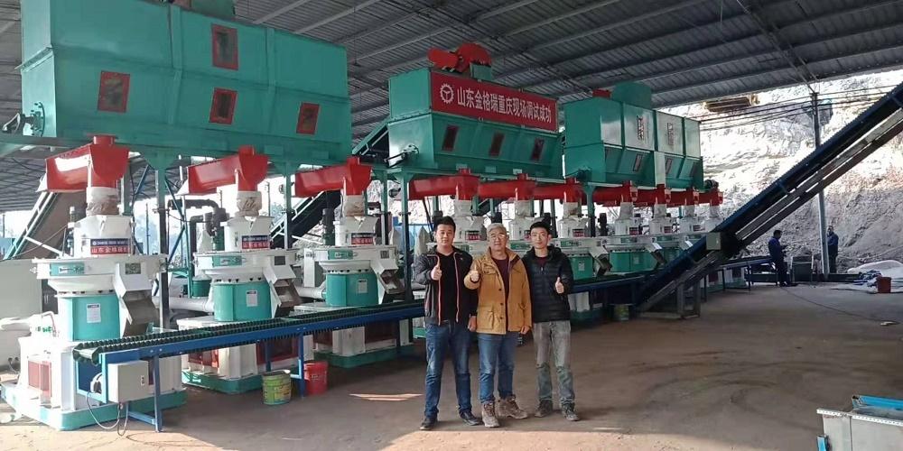 10tph biomass pellet production line