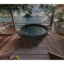 Fiberglass Resin SPA Голландские горячие ванны Outdoor SPA