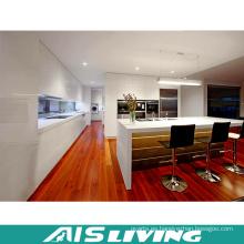 Muebles de madera del gabinete de cocina modulares de la laca del alto brillo (AIS-K368)