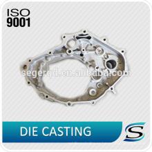ISO9001 de aluminio a presión fundición parte del caso del motor