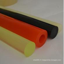 Rods en plastique de polyuréthane de bâti coloré par bâti