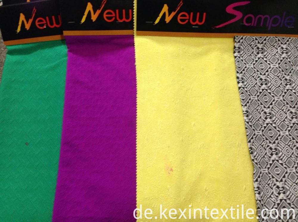 cotton jacquard knit women cloth fabric