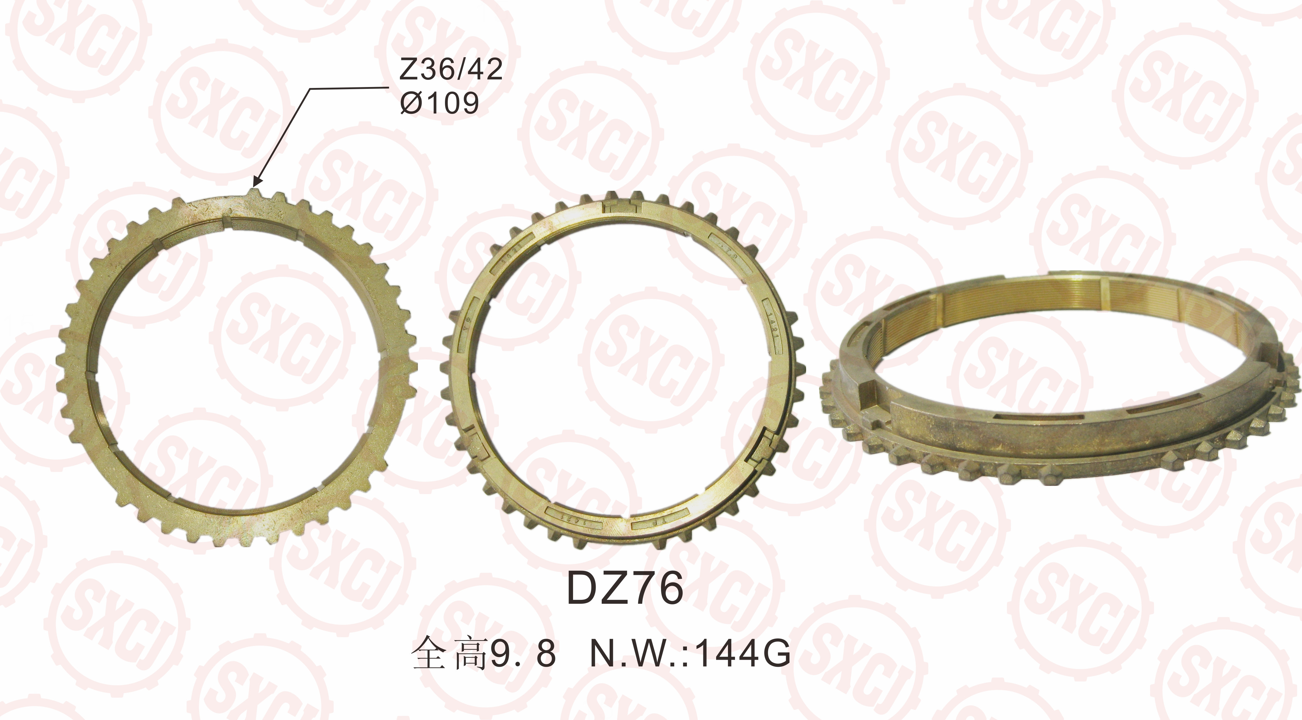 synchronizer ring for HINO