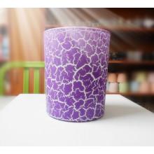 Bougie parfumée personnalisée dans un pot en verre, des tailles délicates sont disponibles