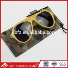 Camouflage Digital Printed Microfiber Pouch for Sunglasses