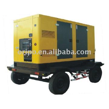 OEM de calidad superior SDEC remolque grupo electrógeno wtih en todo el mundo mantener el servicio