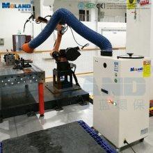Sistema de purificación de aire con colector de polvo portátil